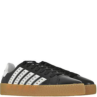 Dsquared2 DSquared2 Spike Low Top Trainers
