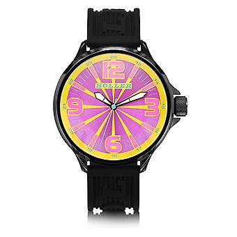 Holler Funked Up Gold & Magenta Watch HLW2279-16