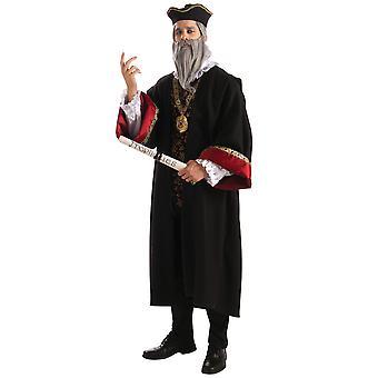 Nostradamus Michel Nostredame Franse geleerde middeleeuws Renaissance Mens kostuum