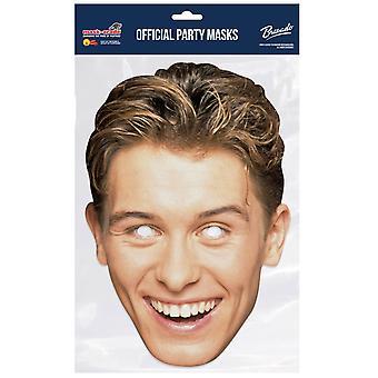 Mark Owen style rétro prendre que la carte officielle 2D Partie fantaisie robe masque