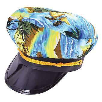 Bristol Novelty Unisex Adults Hawaiian Captain Hat