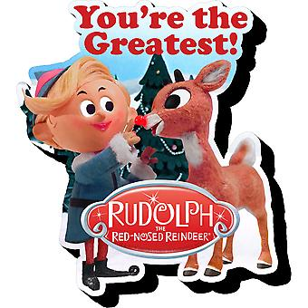 Magnet - Rudolph - Rudolph & Hermey Funky Chunky New Licensed 95422