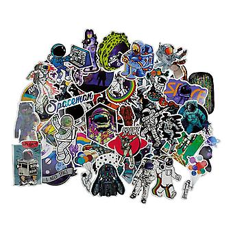 Stickers, 50 pack-Space