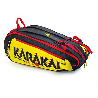 Karakal Pro Tour Comp 9 Racket Bag Sports Equipment Backpack Carry System