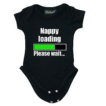 Darkside - nappy loading - babygrow 0 - 6 months