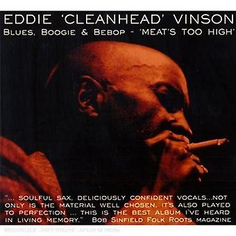 Eddie Cleanhead Vinson - Blues Boogie & Bebo-Meat's Too High [CD] USA import