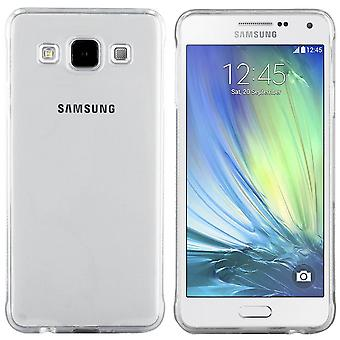 Samsung A3 Silicone Case Transparent - CoolSkin3T