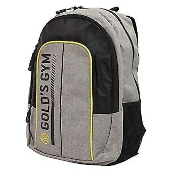 Gold's Gym - Contrast Unisex Backpack - Black and Grey - One Size