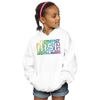 Compact Disc Girls Rainbow Logo Hoodie