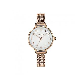 OBAKU - Wristwatch - UNISEX - V237LXVIMV - SYREN-ROSE