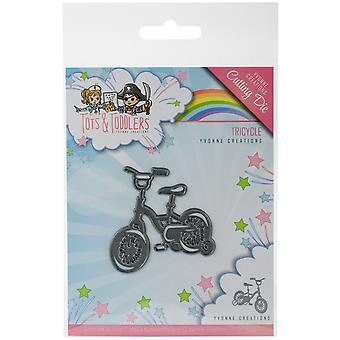 Find It Trading Yvonne Creations Die-Tricycle, Tots et ; Tout-petits