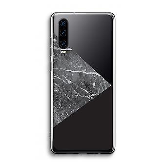Funda transparente Huawei P30 - Combinación de mármol