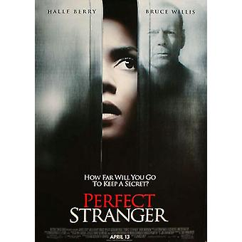 Perfect Stranger (Double Sided Regular Uv Coated) Original Cinema Poster