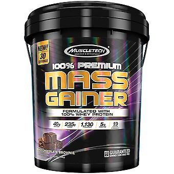 MuscleTech 100% Premium Mass Gainer, Triple Chocolate Brownie (18.5 lbs.)