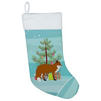 Carolines Treasures  BB9243CS Red Fox Christmas Christmas Stocking