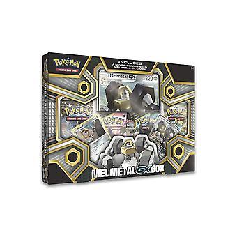 بوكيمون TCG Melmetal-GX مربع بطاقة لعبة