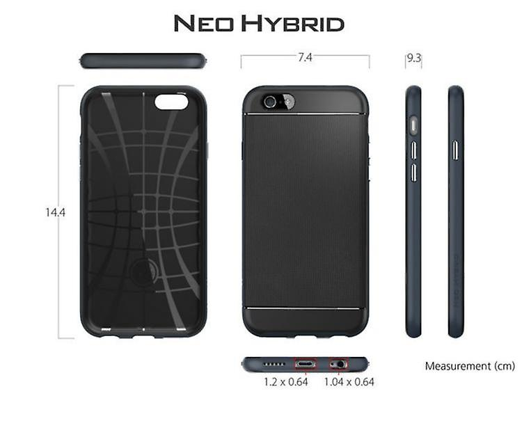 Iphone 6 + / 6S + Plus NEO Hybrid Shell Cover Silver
