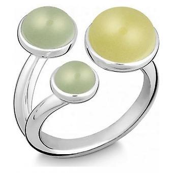 QUINN - Ring - Damen - Silber 925 - Edelstein - Lemonquarz - Weite 56 - 21081648