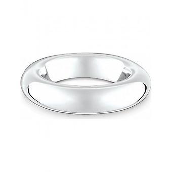 QUINN - Ring - Kvinder - Klassikere - Sølv 925 - Bredde 58 - 0220857