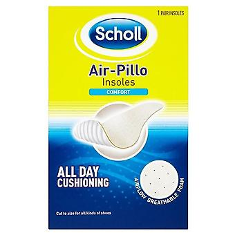 Scholl Air-Pillo Insoles - Comfort - All Day Cushioning - Unisex