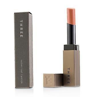 Three Velvet Lust Lipstick - # 09 Sweetest Silence - 4g/0.14oz