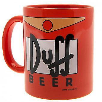 The Simpsons Duff ölmugg och Coaster set