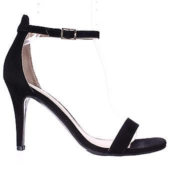 Materiaali tyttö naisten Blaire5 kangas avoin toe rento nilkka hihna sandaalit