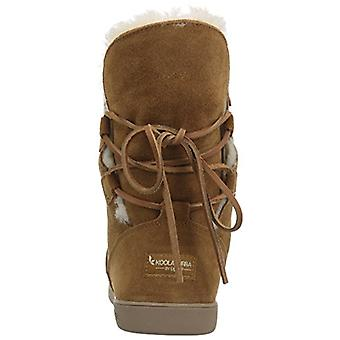 Koolaburra by UGG Womens Shazi Leather Closed Toe Mid-Calf Cold Weather Boots