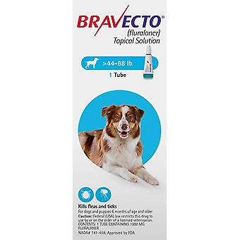 Bravecto Topical For Dogs 20-40 kg (44-88 lbs)