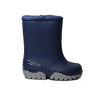 Startrite Baby Mud Buster Navy Or Pink Rubber Childrens Wellington Boots