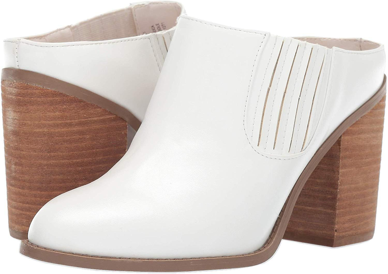 Madden Girl Women's MAGGIEE Fashion Boot, White Paris, 6.5 M US