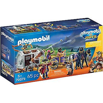 Playmobil - The Movie Charlie with Prison Wagon Toy