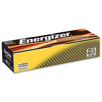 Bateria alkaliczna Energizer Industrial 9v PP3 (opakowanie 12)
