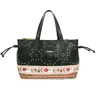 Desigual Women's Black Boston Olimpic Bag