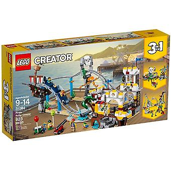 31084 Pirates LEGO roller coaster