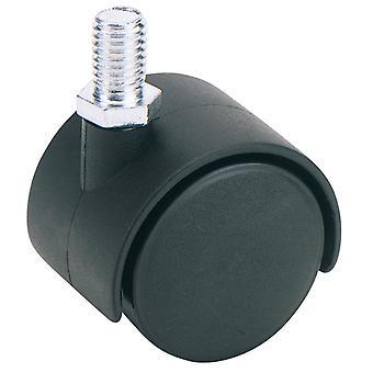 40mm dia. Twin nylon Castor-S. W. L 25Kg-60140B