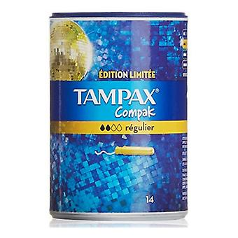 Reguläre Tampons Compak Tampax (14 uds)