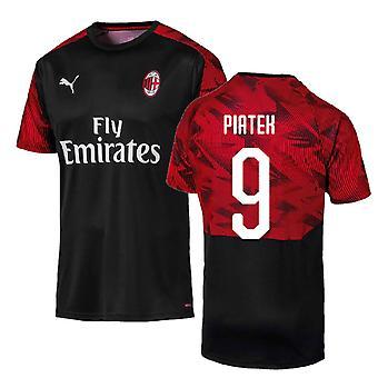 2019-2020 AC Milan Puma Training Shirt (Black) (PIATEK 9)