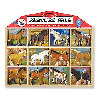Childrens Melissa and Doug Pasture Pals Animal Play Set 3+ years