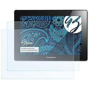 ブルーニ2xスクリーンプロテクターはレノボIdeaTab S6000保護フィルムと互換性があります