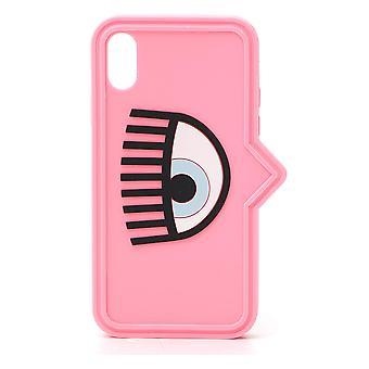 Chiara Ferragni Cfcipxs043pink Women-apos;s Pink Plastic Cover