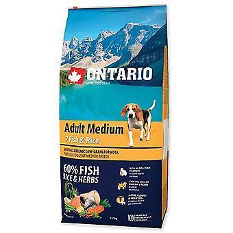 Ontario Medium Adult Fish & Rice (Dogs , Dog Food , Dry Food)