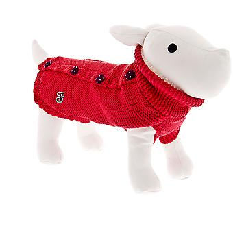 Ferribiella Pin-Up Sweater Red (Dogs , Dog Clothes , Coats and capes)
