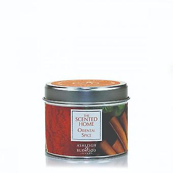 Ashleigh & Burwood Scented Home Tin Candle 165g Oriental Spice