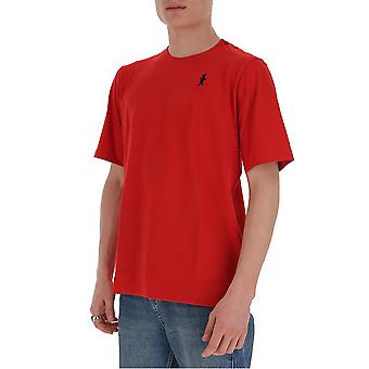Marni Humu0157a0s2276300r69 Men's Red Cotton T-shirt