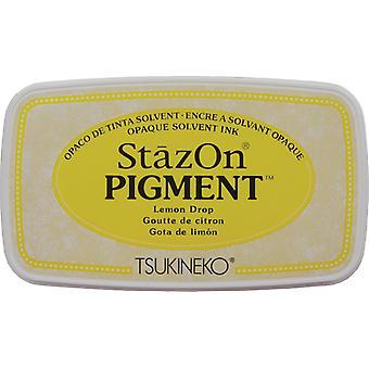 StazOn Pigment Ink Pad - Lemon Drop