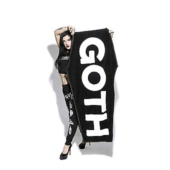Blackcraft cult - goth beach towel - 100% cotton towel