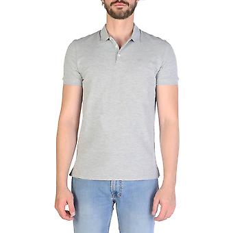 Emporio Armani Original Men Spring/Summer Polo - Grey Color 35395
