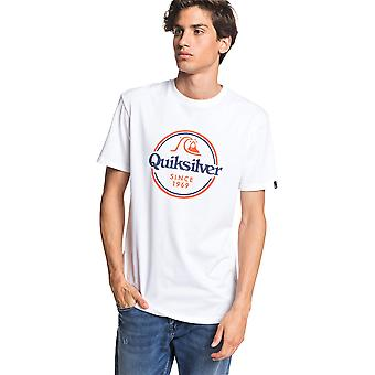 Quiksilver Men's T-Shirt ~ Words Remain white