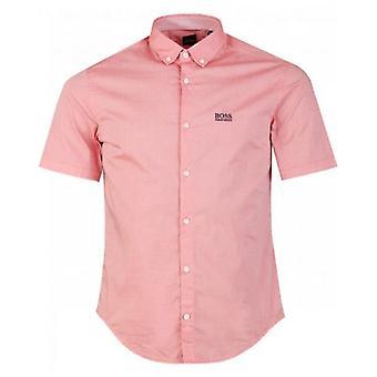 Boss Athleisure Biadia Short Sleeved Oxford Shirt